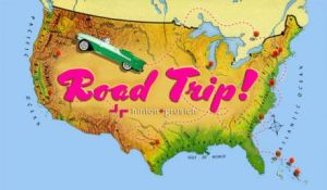 We will be driving a minivan, not a classic convertible, but the road trip is on the way!