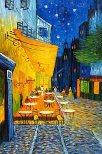 Café Terrace at Night, also known as The Cafe Terrace on the Place du Forum